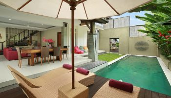 2 Bedroom Villa Swimming Pool