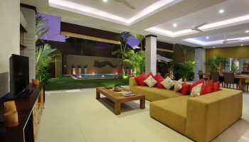 3 Bedroom Villa Living Area